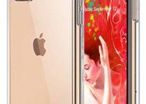 Funda para iPhone 11 Transparente Silicona Carcasa con Cuerda para Apple iPhone 11 Suave TPU Case con Cuerda para Colgar Ajustable Anti Golpes Protector Case Rosa de Oro